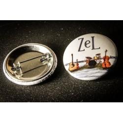 """Badge Zel """"Olen Talvi"""" Rond..."""